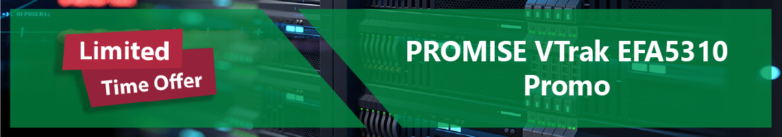 PROMISE VTrak All-Flash Storage Promo